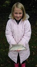 "Local school girl with a nice skimmer bream caught during the ""school's day"" at Nineoaks"