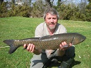 13lb Grass Carp for Mike on floating bread