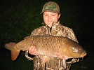 youngster from Merthyl Tydfyl with his pb of 16lb Common