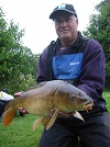 Andrew Kirtley from Dihewyd with his 8lb Mirror from the House Pool