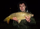 Pole fished, single sweetcorn skin at dead depth!