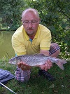 A 2lb Chub caught by local angler 'Pappa Smurf' on sweetcorn