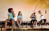 Fishing Talk needs for kids to get started