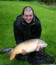 John Conlin from Leeds with his 23lb Mirror