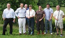 Local Solicitor, John Patterson, with some of his clients who had a great evening Fly Fishing and Coarse Fishing