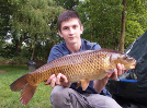 24hrs Angler, Lewis with a lovely Common from Main Lake