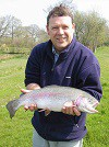 A fine 5lb Rainbow for Postmaster Mike