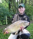 A 14lb Common for 14yr old Daniel from Llangollen