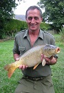 Cliff Hanniby from Flintshire, double figure Carp from the Main Lake
