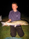 Young Mr Hanniby from Flintshire, 6lb Grass Carp