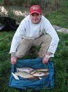 Oakford local Richard Turner with a nice bag of Carp from the Novices pool